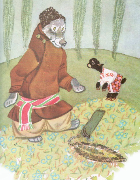 Овечка и волк - украинская народная сказка
