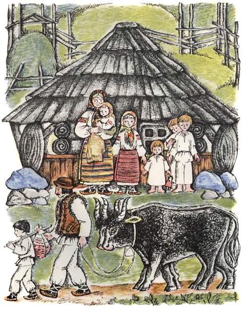 Про бедного человека и Вороньего царя - украинская народная сказка