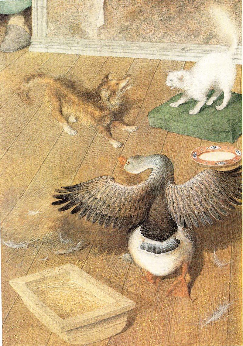 Каштанка в иллюстрациях Геннадия Спирина