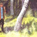 Берестяная трубочка - Пришвин М.М. Рассказ про трубочку из бересты.