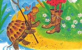Болтливая черепаха — Яновский Е.Г. Сказка про Белку и Черепаху.