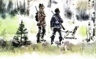 Этажи леса — Пришвин М.М. Рассказ про маленьких синичек.