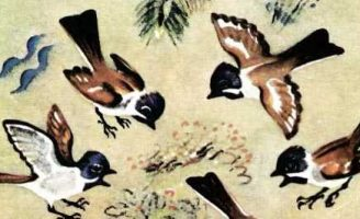 Гости — Пришвин М.М. Рассказ про гостей из животного мира.