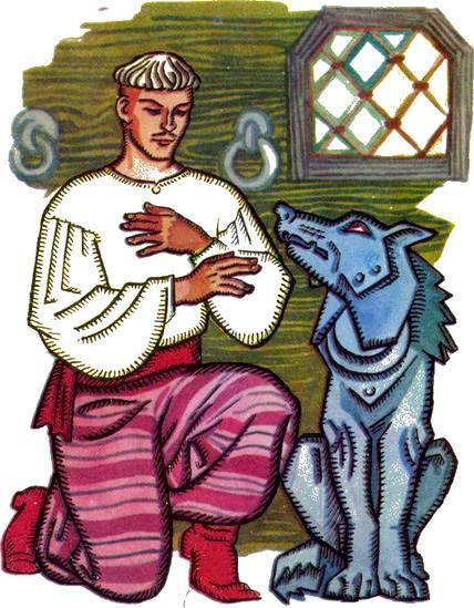 Иван-царевич и железный волк - украинская народная сказка