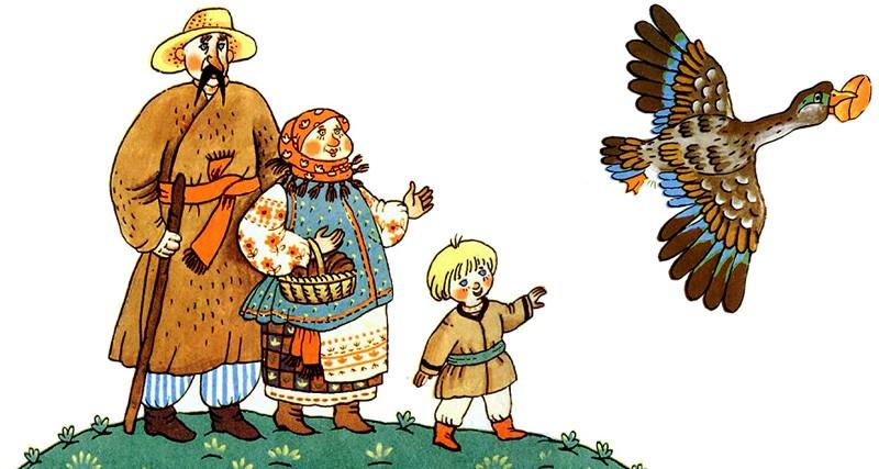 Ивасик телесик - украинская народная сказка