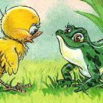 Как цыпленок голос искал - Карганова Е.Г. Сказка про цыпленка.