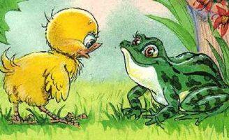 Как цыпленок голос искал — Карганова Е.Г. Сказка про цыпленка.