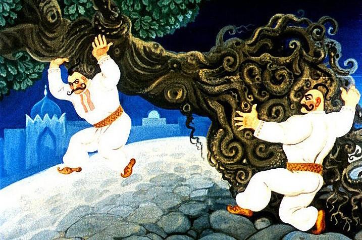 Казак Мамарыга - украинская народная сказка