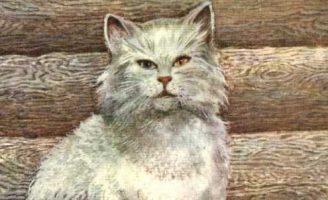 Кот Епифан — Чарушин Е.И. Рассказ про бакенщика и его кота Епифана.