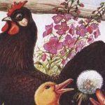 Курица на столбах - Пришвин М.М. Рассказ про курицу Пиковая дама.