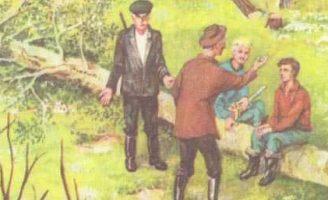 Лесной доктор — Пришвин М.М. Рассказ про работу дятлов.