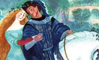 Лорелея — немецкая народная сказка. Сказка про двух возлюбленных.