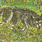 Лёгкий хлеб - белорусская народная сказка. Сказка про волка.