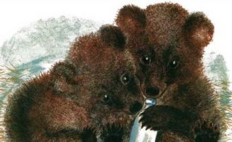 Медвежата — Чарушин Е.И. Рассказ про озорных медвежат.