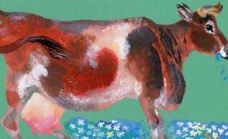 На нашем дворе — Чарушин Е.И. Рассказ про домашних животных.