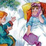 Навестила - Осеева В.А. Рассказ как девочка навестила больную подругу.