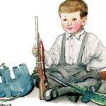 Никита - охотник - Чарушин Е.И. Как Никита играл в охотника.
