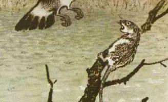 Остров спасения — Пришвин М.М. Рассказ про большой разлив на Волге.