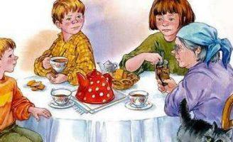 Печенье — Осеева В.А. Рассказ про эгоизм и внимание к близким.