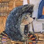 Поросенок в колючей шубке - Козлов С.Г. Сказка про ежика и снежинку.