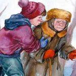 Просто старушка - Осеева В.А. Рассказ про неравнодушного мальчика.