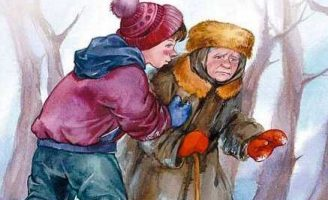 Просто старушка — Осеева В.А. Рассказ про неравнодушного мальчика.