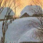 Птицы под снегом - Пришвин М.М. Рассказ про птичьи повадки.