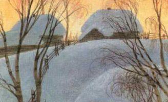 Птицы под снегом — Пришвин М.М. Рассказ про птичьи повадки.