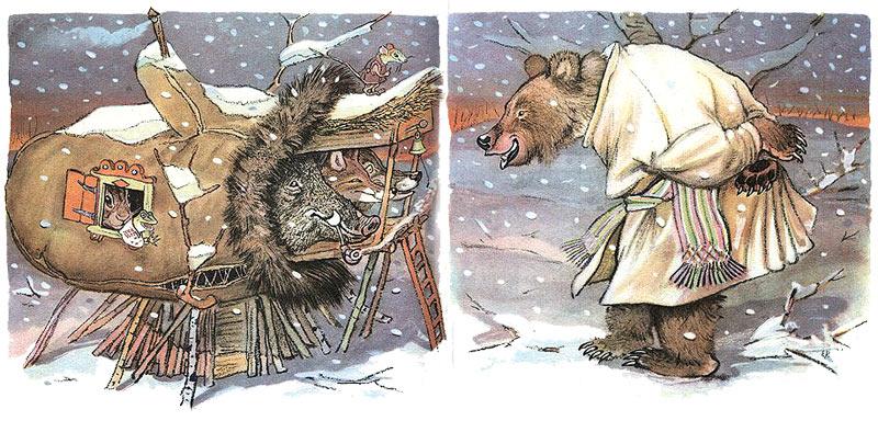 Рукавичка - украинская народная сказка