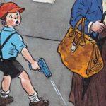 Саша - Носов Н.Н. Рассказ про мальчика Сашу и его пистолет с пистонами.