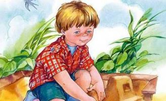 Строитель — Осеева В.А. Рассказ про упорного и трудолюбивого мальчика.