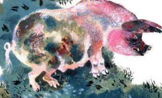 Свинья — Чарушин Е.И. Рассказ про Егорыча и лосенка.