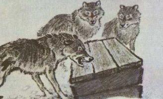 Таинственный ящик — Пришвин М.М. Рассказ про охоту на волков. 5 (2)