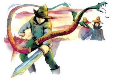 Три брата и змей - украинская народная сказка