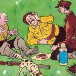 Три охотника - Носов Н.Н. Рассказ про встречи охотников с медведем.