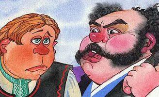 Жадный богатей — белорусская народная сказка. Сказка про двух братьев. 0 (0)