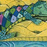 Зеленая птица - Козлов С.Г. Сказка про крокодила, мечтавшего летать.