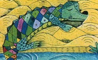 Зеленая птица — Козлов С.Г. Сказка про крокодила, мечтавшего летать.