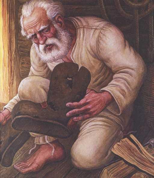 Дедушкин валенок - Пришвин М.М.