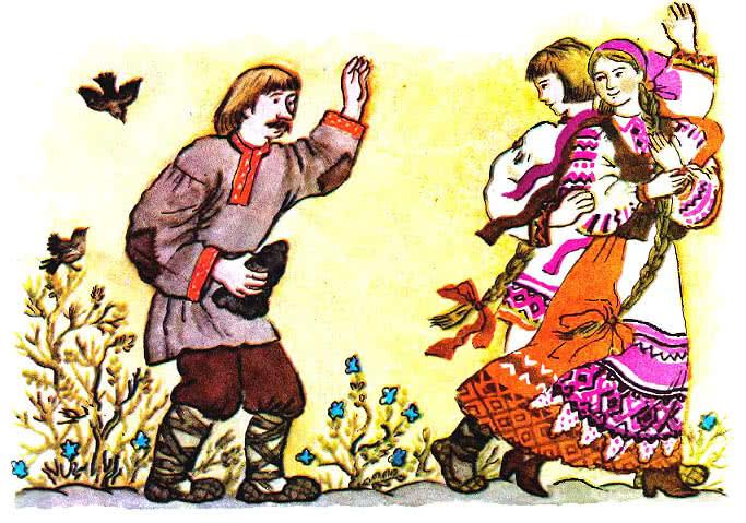 Андрей всех мудрей - белорусская народная сказка