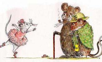 Ангелина балерина — Катерина Холабёрд. Сказка про мышку Ангелину.