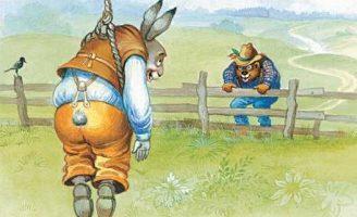 Братец Кролик и Братец Медведь — Харрис Д.Ч. Как Кролик воровал горох. 5 (1)