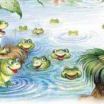 Братец Лис и лягушки - Харрис Д.Ч. Как Братец Лис чуть не утонул в пруду.