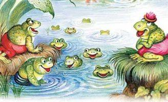 Братец Лис и лягушки — Харрис Д.Ч. Как Братец Лис чуть не утонул в пруду.