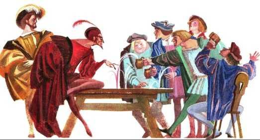 Фауст - немецкая народная сказка
