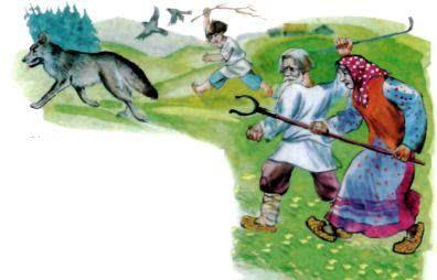 Глупый волк - белорусская народная сказка