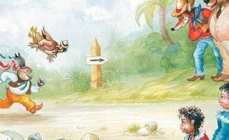 Как Братец Черепаха победил Братца Кролика — Харрис Д.Ч. Сказка.