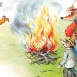 Как Братец Кролик управился с маслом - Харрис Д.Ч. Сказка.