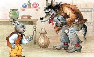 Как Братец Волк попал в беду — Харрис Д.Ч. Сказка про Кролика и Волка.