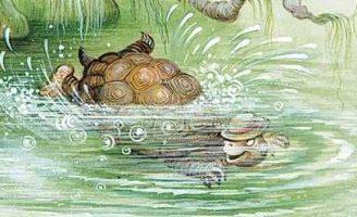 Как повстречались Братец Лис и Братец Черепаха — Харрис Д.Ч. Сказка.